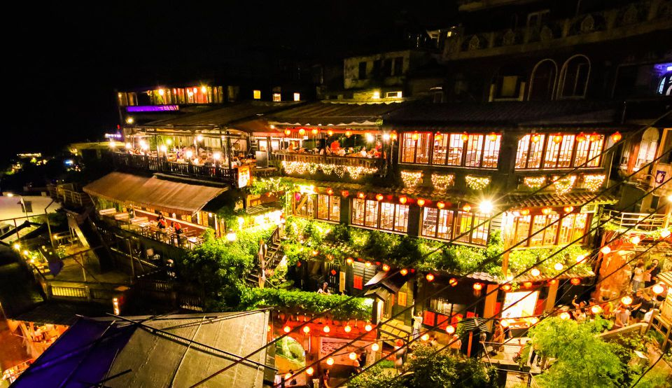 The Stunning Teahouses And Twisting Alleyways Of Jiufen, Taiwan: Article From Forbes.com