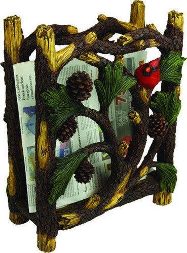Pinecone Magazine Rack - GrayGoose Products Limited