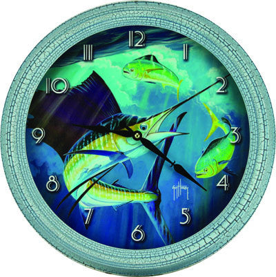 Clock - Guy Harvey Sailfish 15