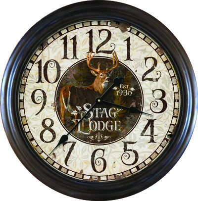 Clock - Stag Lodge 26