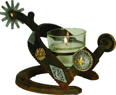 Spur Votive Candle Holder