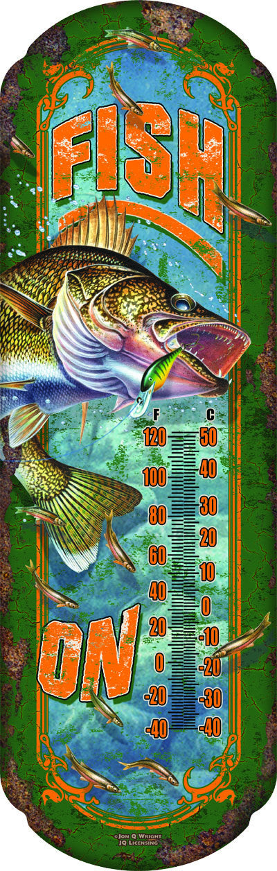 Fish On Thermometer - GrayGoose Products Limited