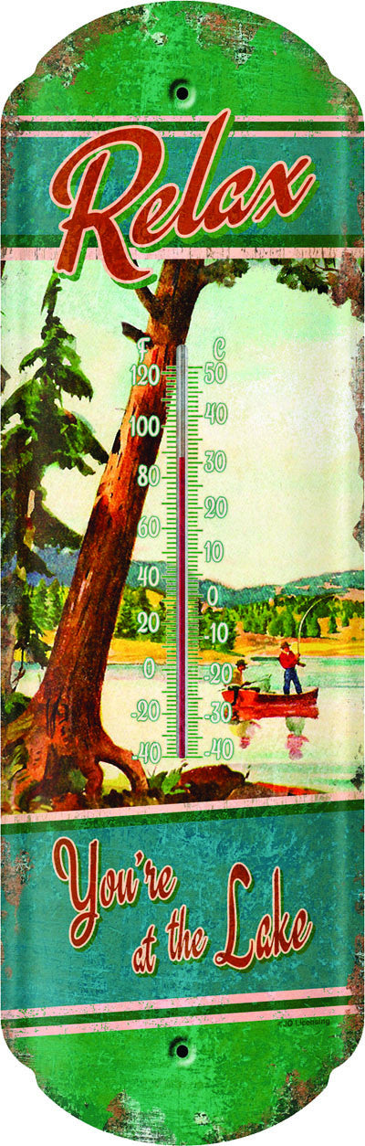 At The Lake Thermometer - GrayGoose Products Limited
