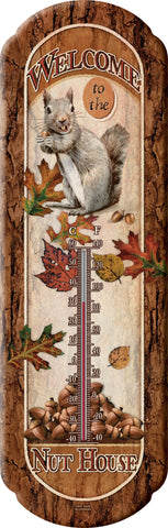 Welcome To Nut House Thermometer