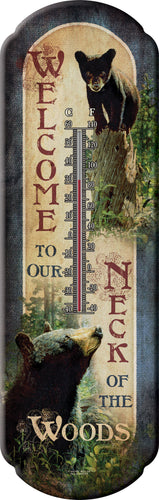Bear Welcome Thermometer - GrayGoose Products Limited