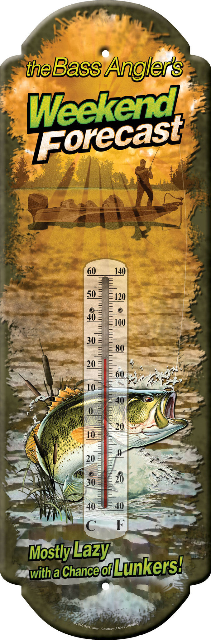 Weekend Forecast Thermometer - GrayGoose Products Limited