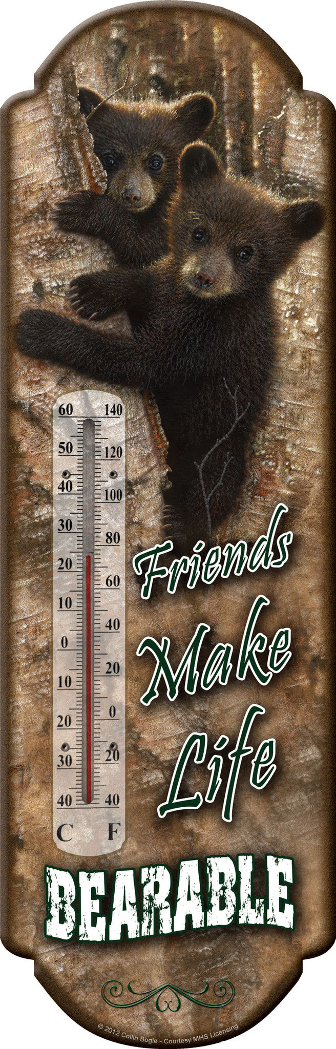 Bear Thermometer - GrayGoose Products Limited
