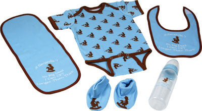 Western Baby Boy 5 Piece Baby Set - GrayGoose Products Limited