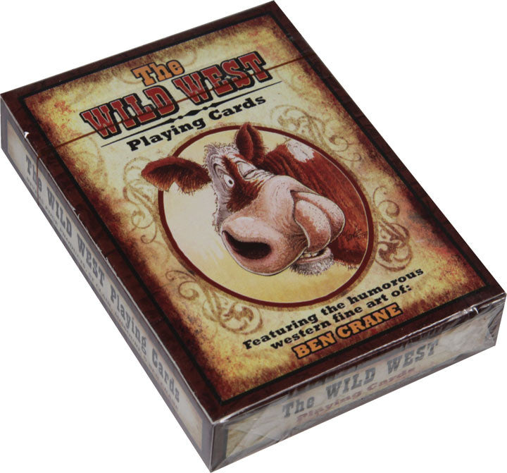 Humor Western Playing Cards - GrayGoose Products Limited