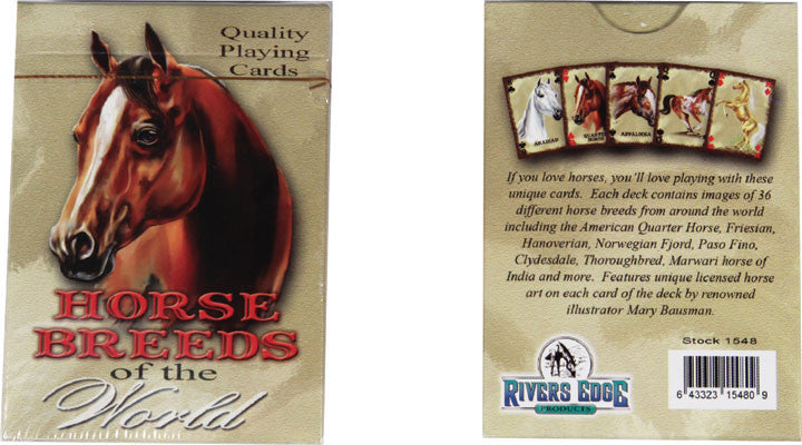 Horse Breeds of the World Playing Cards - GrayGoose Products Limited