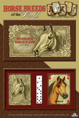 Horse Cards & Dice In Tin - GrayGoose Products Limited