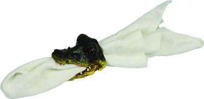 4 Pc. Napkin Holder - Alligator - GrayGoose Products Limited