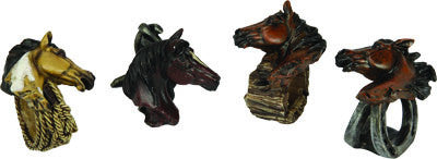 4 Pc. Napkin Holder - Horse Western - GrayGoose Products Limited