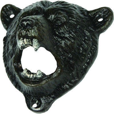 Bear Cast Iron Bottle Opener - GrayGoose Products Limited