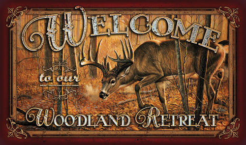 Deer Welcome Door Mat - GrayGoose Products Limited