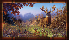 Door Mat- Deer Scene - GrayGoose Products Limited