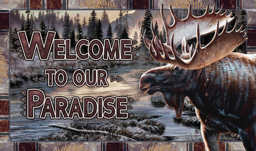 Door Mat- Moose - GrayGoose Products Limited