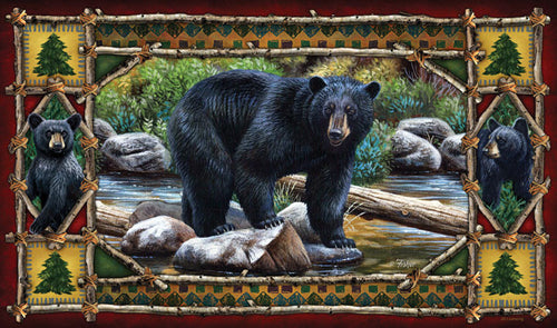 Bear Door Mat - GrayGoose Products Limited