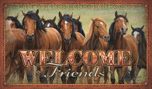Horses Door Mat - GrayGoose Products Limited