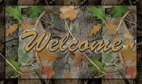 Camo Door Mat - GrayGoose Products Limited