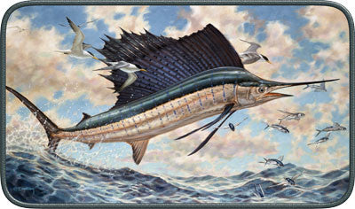 Don Ray Sailfish Door Mat - GrayGoose Products Limited