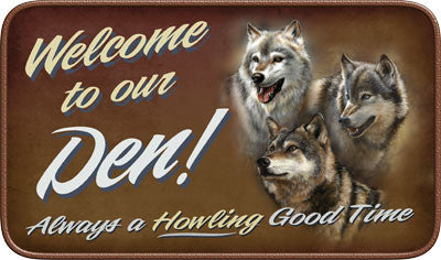 Welcome Our Den Door Mat - GrayGoose Products Limited