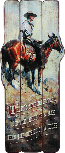 Western Themed Wood Sign - GrayGoose Products Limited