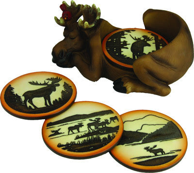 Moose Coaster Set - GrayGoose Products Limited