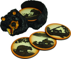 Bear Coaster Set