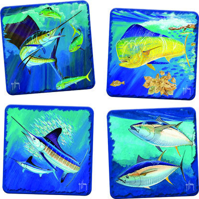Guy Harvey Coaster 4 Piece Set