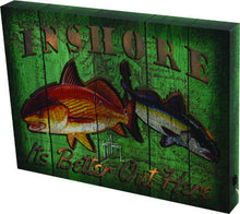 LED Wall Sign - Guy Harvey Inshore - GrayGoose Products Limited