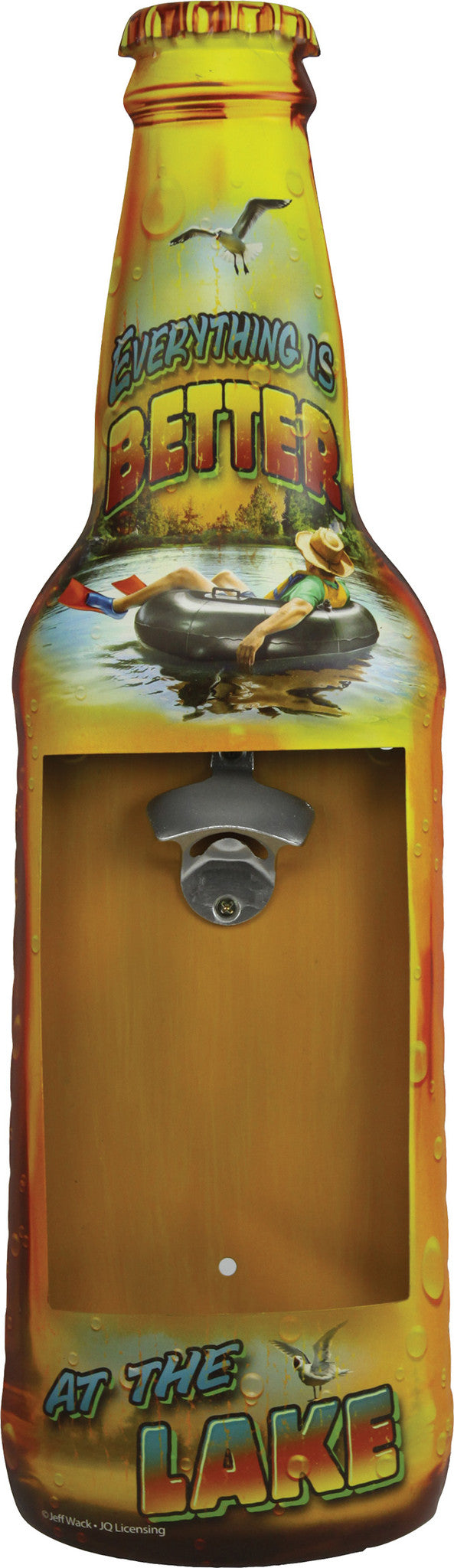 Metal Bottle Opener - Better At Lake - GrayGoose Products Limited