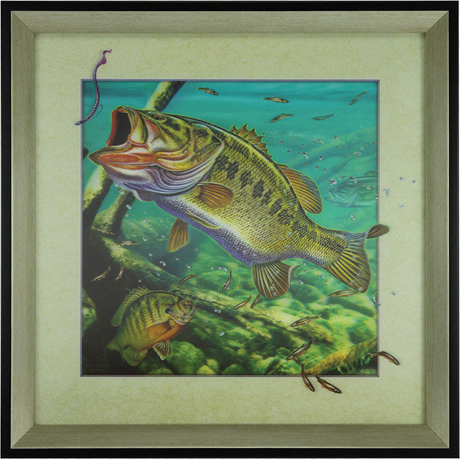 5D Lenticular Artwork - Bass - GrayGoose Products Limited