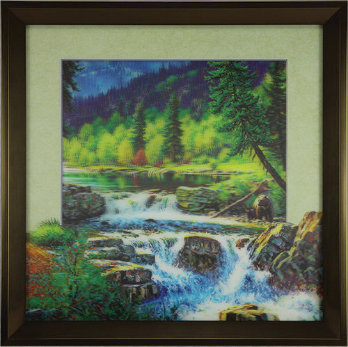 5D Lenticular Artwork - Stream - GrayGoose Products Limited