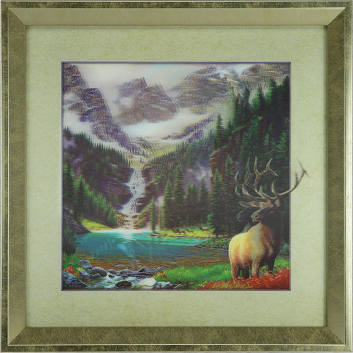 5D Lenticular Artwork - Elk - GrayGoose Products Limited