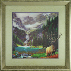 5D Lenticular Artwork - Elk