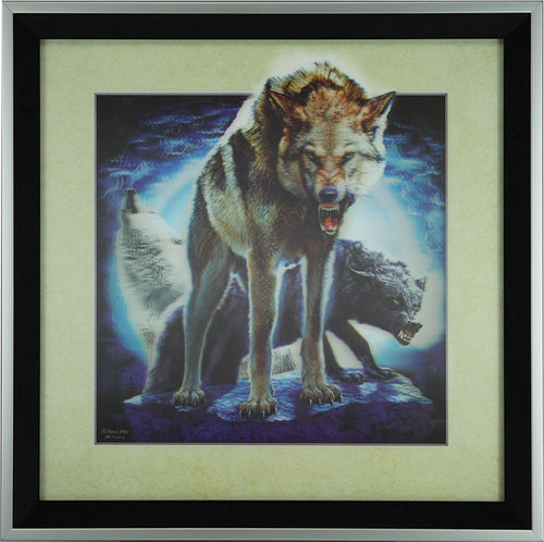 5D Lenticular Artwork - Wolf - GrayGoose Products Limited