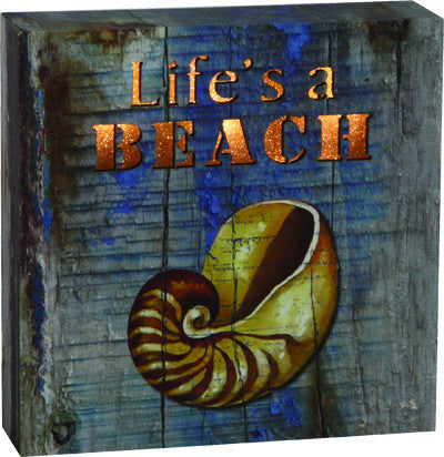 LED Box - Life's a Beach - GrayGoose Products Limited