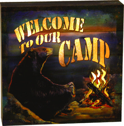 LED Box - Welcome Camp - GrayGoose Products Limited