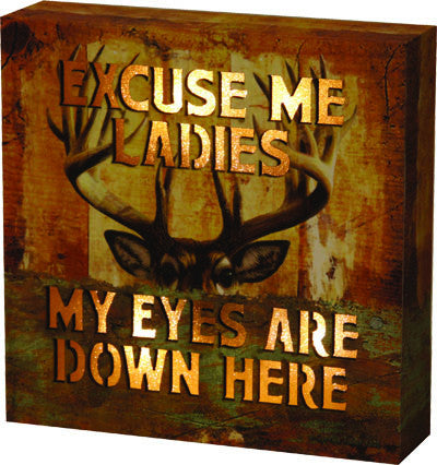 LED Box - Excuse Me Ladies - GrayGoose Products Limited
