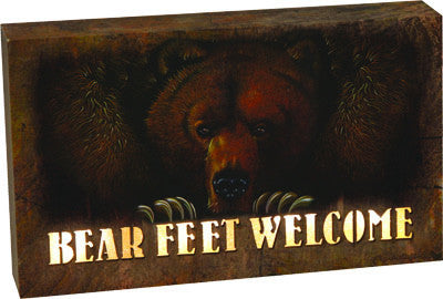 LED Box - Bear Feet - GrayGoose Products Limited