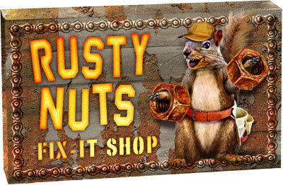 LED Box - Rusty Nuts Fix It Shop - GrayGoose Products Limited