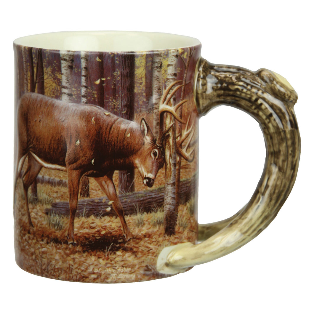 Coffee Mug - Deer/Farm 3D 15oz - GrayGoose Products Limited