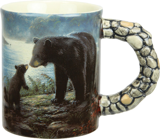 Coffee Mug - Bears Scene 3D 15oz - GrayGoose Products Limited