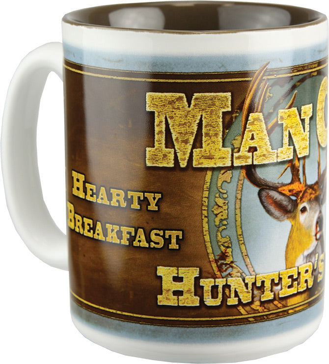 Coffee Mug - Deer Man Cave 16oz - GrayGoose Products Limited