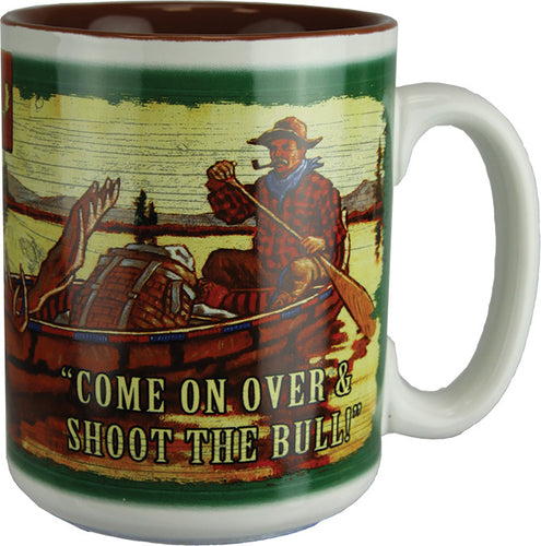 Coffee Mug - Moosehead Lodge Cave 16oz - GrayGoose Products Limited