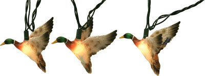 10 Piece Mallard Duck Lights