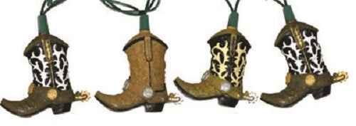 10 Piece Cowboy Boot Light Set - GrayGoose Products Limited