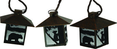 Bear Lantern Light Set