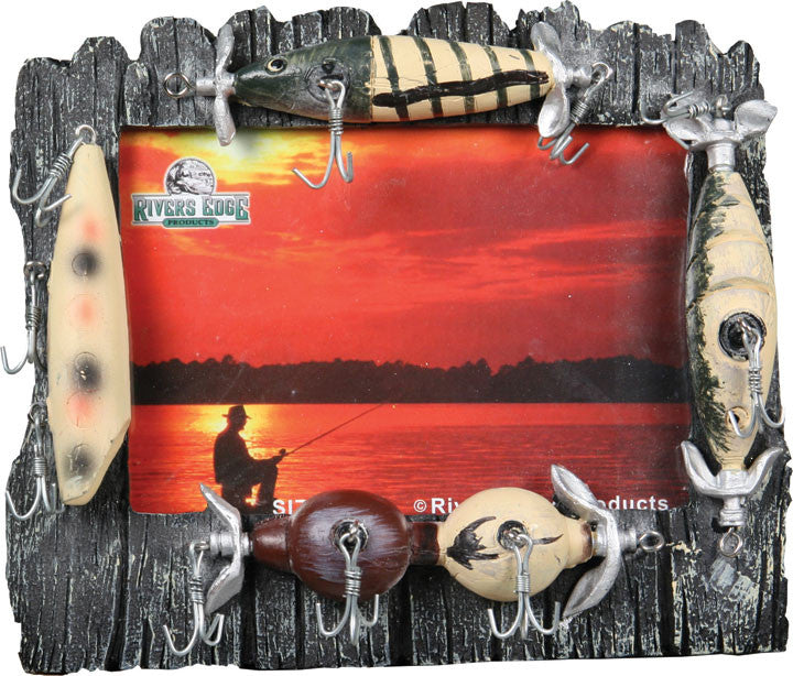 Fishing Frames - Lure Picture Frame - GrayGoose Products Limited